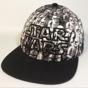 Star Wars Stormtrooper Black Embroidered Hat